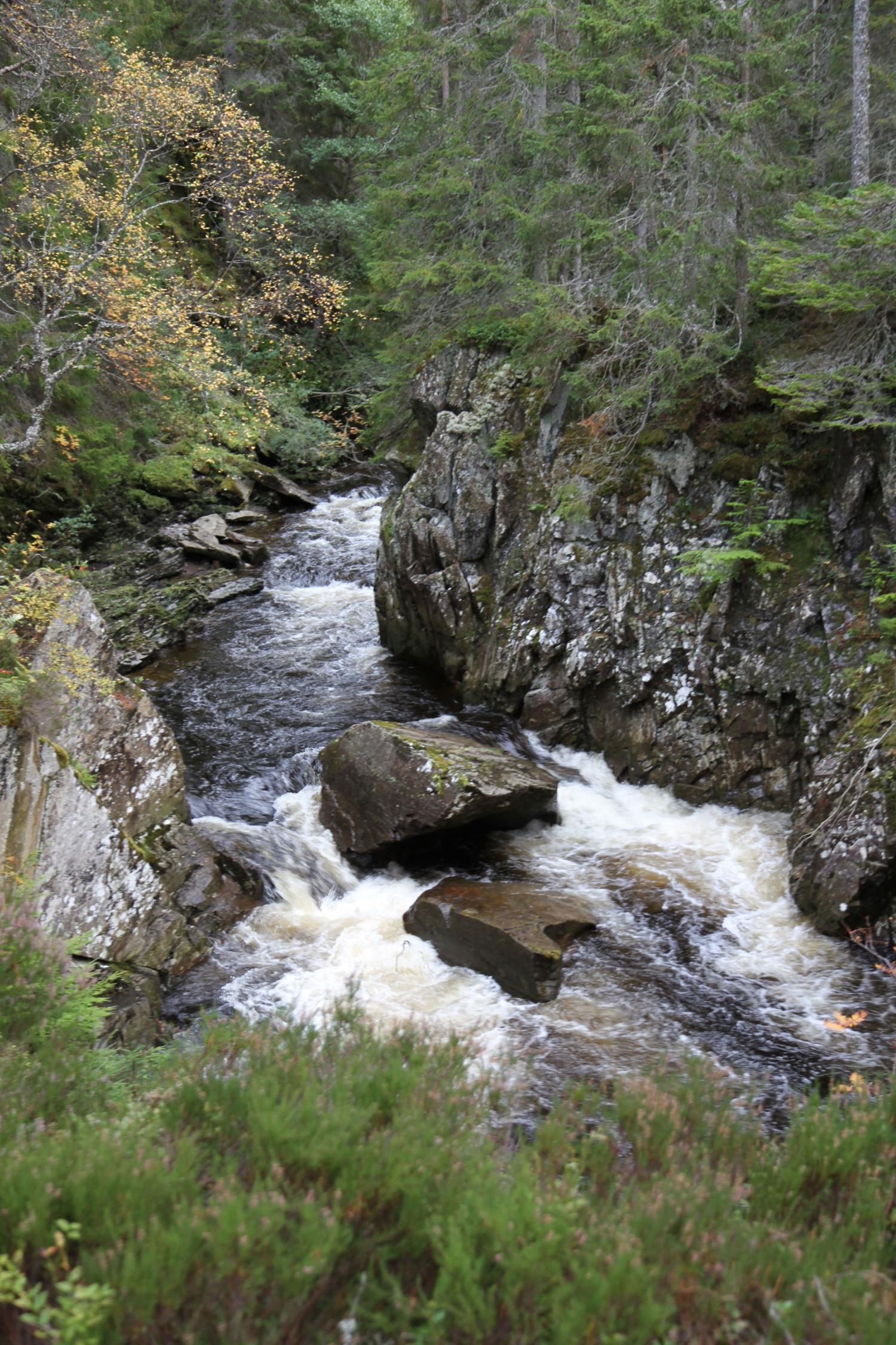 Wasserfall bei Spean Bridge