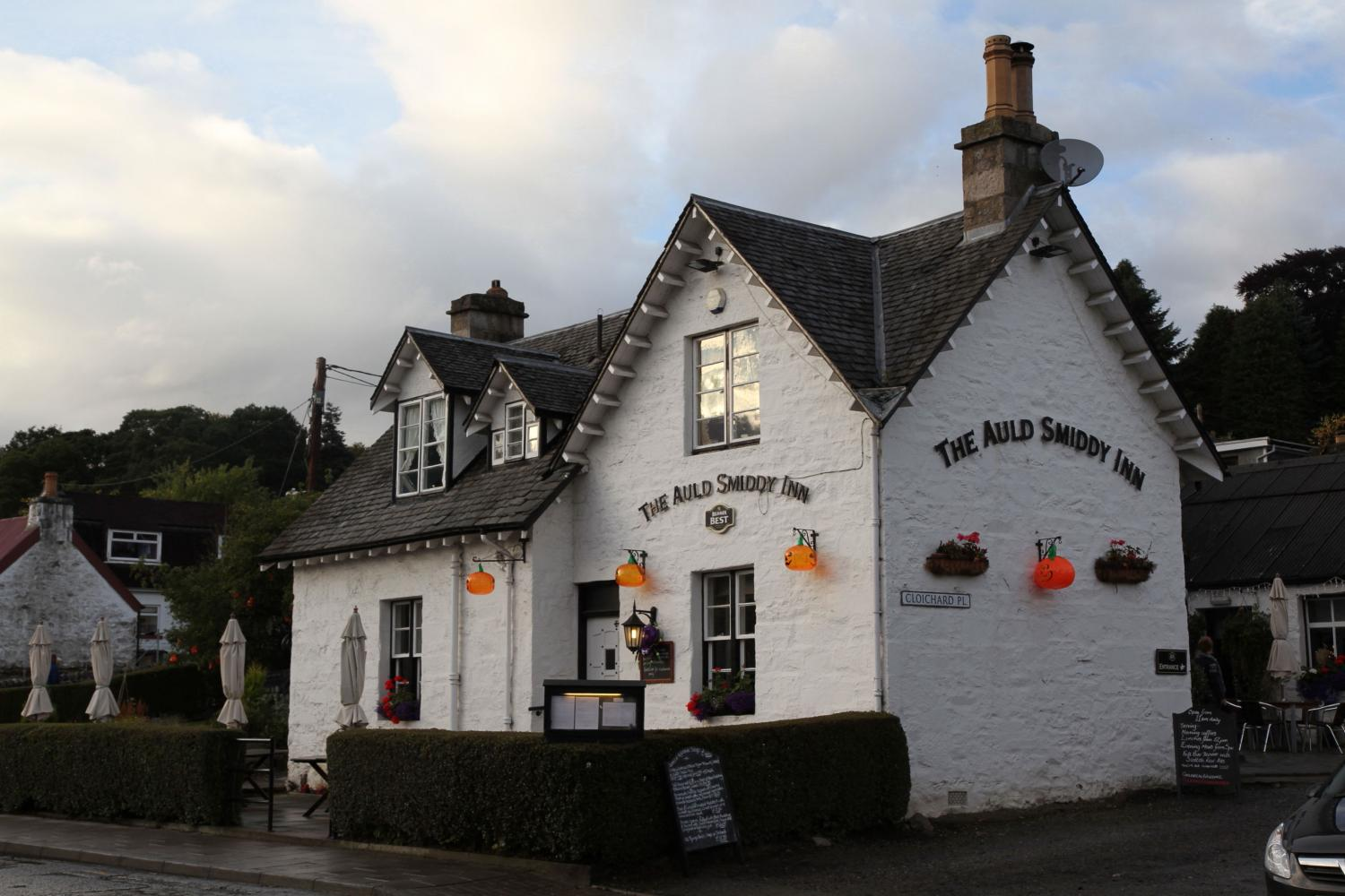 The auld Smiddy Inn in Pitlochry